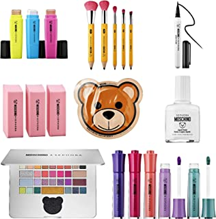 Moschino Sephora Pencil Collection~ Complete Makeup 8pc Gift Set~ Limited Edition~