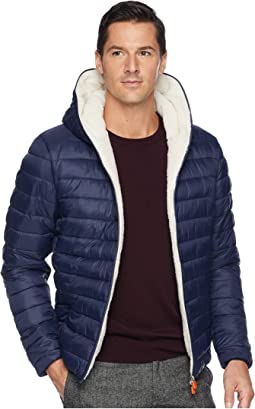 Basic Hooded Jacket (Sherpa Lined)