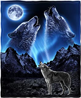 Best wolf blanket twin size Reviews
