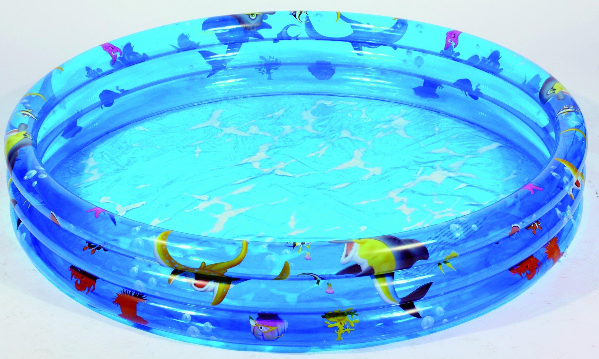 Friedola Wehncke 12260 - Piscina Hinchable para niños sin Cloro y plastificantes Ø 100 cm: Amazon.es: Jardín