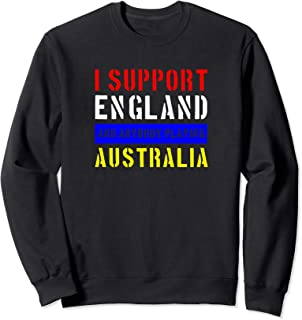 Funny England Rugby Union Fan - Support English Rugby Sweatshirt