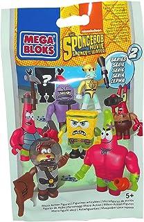 Mega Bloks Spongebob Squarepants The Spongebob Movie Sponge Out Of Water Series 2 Minifigures Mystery Pack