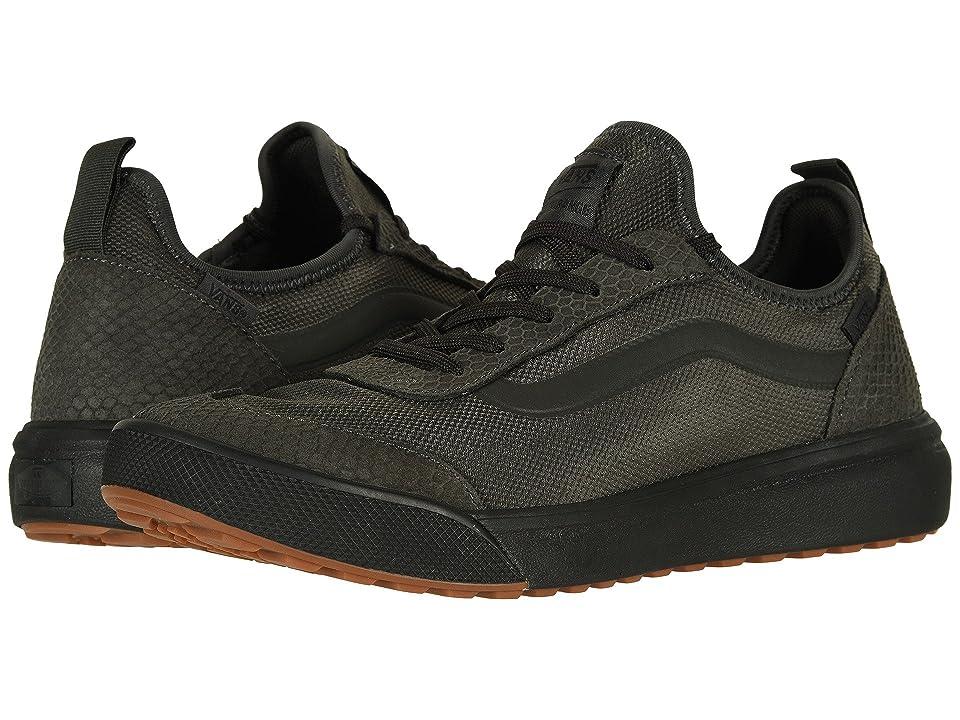 Vans UltraRange AC ((Reptile) Peat/Black) Skate Shoes