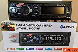 Direct Connect Plug & Play Kubota Tractor Radio Google Siri Bluetooth RTV-1100 B2650 RTV-X1100C