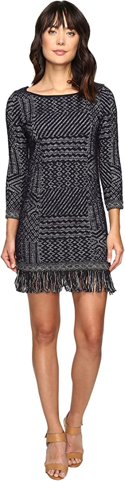 Lucky Brand Jacquard Dress