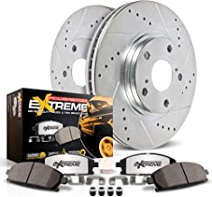 Power Stop K7352-36 Z36 Truck & Tow Front Kit Rotor and Carbon-Fiber Ceramic Brake Pads