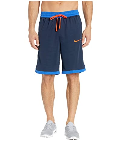 Nike Dry Elite Shorts Stripe (Obsidian/Game Royal/Team Orange) Men