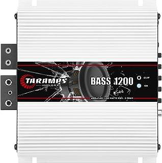 Módulo Taramps BASS 1200 2 ohms 1200 W RMS Amplificador Som Automotivo
