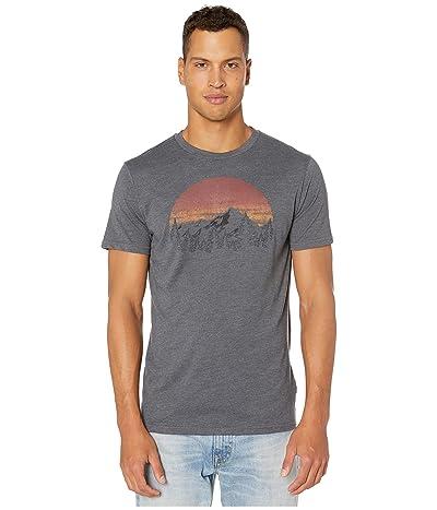 tentree Vintage Sunset Short Sleeve Tee (Gargoyle Grey Heather) Men