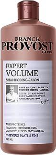 Franck ProvostExpert Volume -Shampoo professionale per capelli piatti, fini, che mancano di volume,750ml