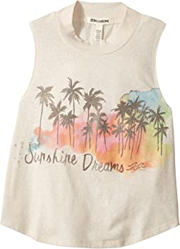 Billabong Kids - Love Grows Muscle Tee (Little Kids/Big Kids)