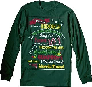 ELF MAP - Funny Holiday Ugly Christmas - Long Sleeve Shirt