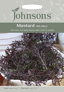 英国ミスターフォザーギルズシード&ジョンソンシード Speedy Salads スピーディ・サラダ Mustard Red Frills マスタード・レッド・フリルス
