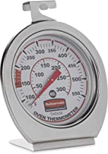 Rubbermaid Commercial Products Stainless Steel Instant Read Oven/Grill/Smoker Monitoring Thermometer