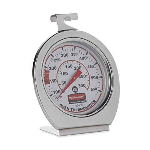 Rubbermaid-Commercial-Products-Stainless-Steel-Instant-Read-Oven/Grill/Smoker-Monitoring-Thermometer