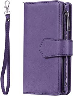 Leather Flip Case for iPhone X, Business Wallet Cover Compatible with iPhone X, with Waterproof Pouch for Smart Phone