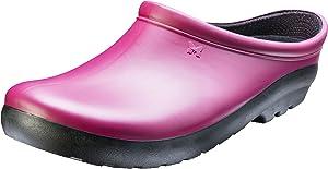 Sloggers Women's Premium Clog Garden, Sangria Red, Size 7, Style 260SR07