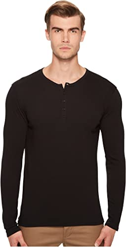 Vince - Raw Edge Henley