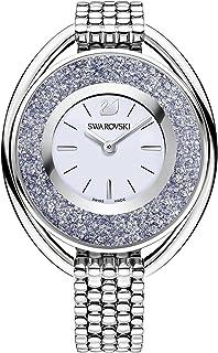 Swarovski Crystalline Oval Silver Tone Ladies Watch 5263904