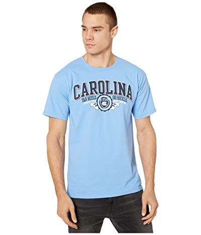 Champion College North Carolina Tar Heels Jersey Tee (Light Blue 4) Men
