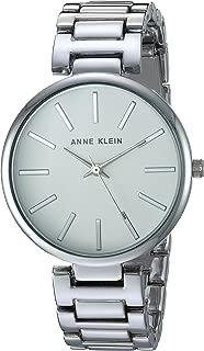 Anne Klein AK/2787SVSV Reloj de pulsera plateado para mujer