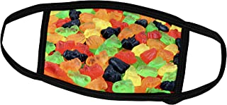 Lplpol Month Mask - Food - Image of Macro of Gummy Bears Candy - Dust Mask Outdoor Protective Mask