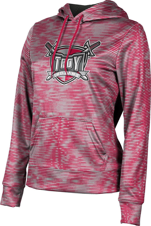 Troy University Girls' Pullover Hoodie, School Spirit Sweatshirt (Velocity)