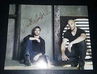 paul walker autograph coa
