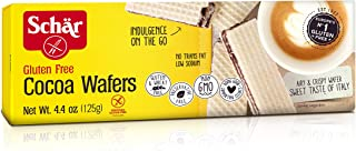 Schär Gluten Free Cocoa Wafers, 4.4 oz., 6-Pack