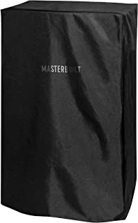 Masterbuilt MB20080110 Electric Smoker Cover, 11.80in. x 11.60in. x 1.20in, Black (Renewed)