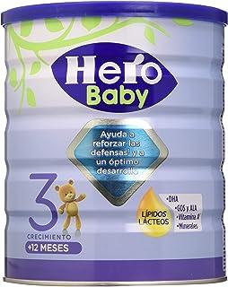 Hero Baby Leche Nutrasense 3, desde 12 Meses - 800 g