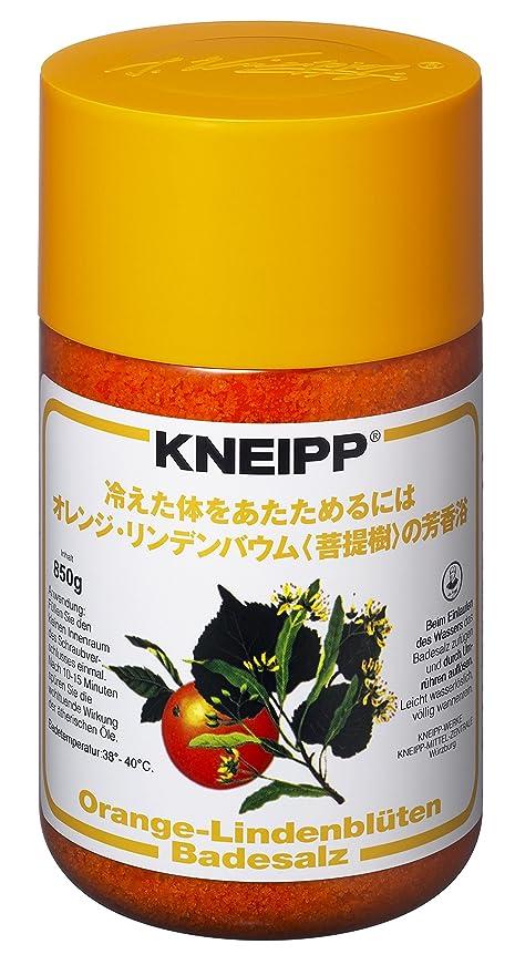 わがままヒロイン混乱させるクナイプ バスソルト オレンジ?リンデンバウム<菩提樹>の香り 850g