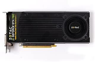 ZOTAC NVIDIA GeForce GTX 760 2GB GDDR5 2DVI/HDMI/DisplayPort PCI-Express Video Card (ZT-70401-10P)