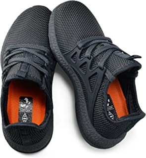 KIKOSOCKS Girls Boys Sneakers Ultra Lightweight Kids Running Shoes Breathable Hiking Shoes (Toddler/Little Kid/Big Kid)