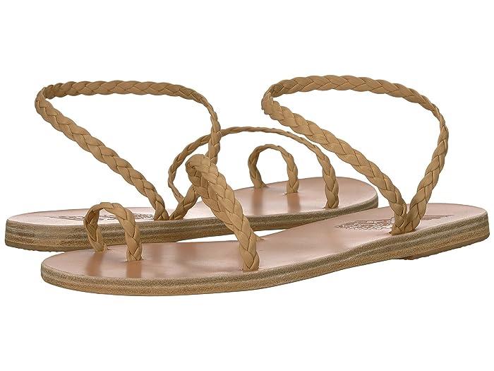 Ancient Greek Sandals  Eleftheria (Natural/Natural Nappa) Womens Sandals