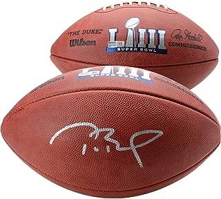 Tom Brady New England Patriots Autographed Super Bowl LIII Pro Football - TRISTAR - Fanatics Authentic Certified