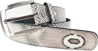 PELGIO Genuine Cobra Snake Skin Men's Belt 46