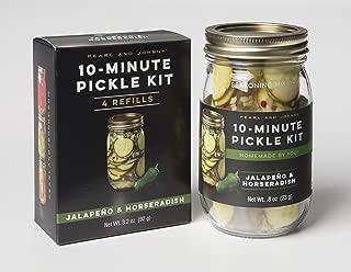 Jalapeno & Horseradish 10-Minute Pickle Kit & Refill Set