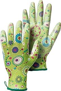 دستکش باغبانی Hestra: زنان دستکش کار در فضای باز ، سبز ، 9