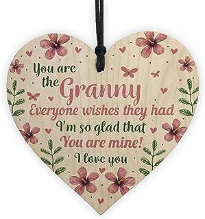 Mother\u2019s Day birthday anniversary Personalised grandmother gift from grandchildren Mum mummy nan grandma granny grandchildren