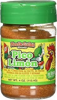 Pico De Gallo's Authentic Pico Limon Seasoning, 4oz, Locally Produced