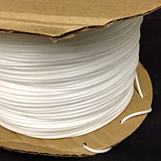 White Poly Foam Welt Cord Piping Outdoor Upholstery Sewing, Weather Resistant and Durable