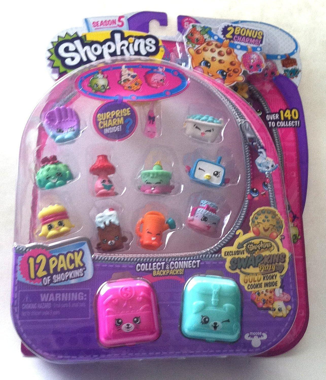 Swapkins Shopkins 12 Pack w  gold Kooky Cookie