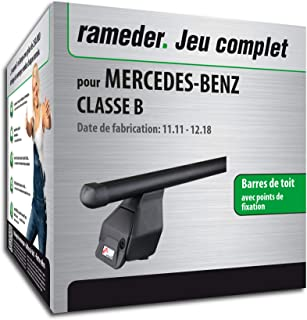 118876-09769-1-FR Rameder Pack Barres de Toit Tema pour Mercedes-Benz Classe B