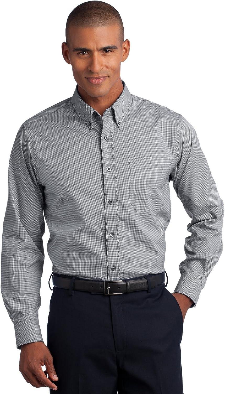 選択 Red House Men's Mini Check Iron 1年保証 Button Down Non Shirt