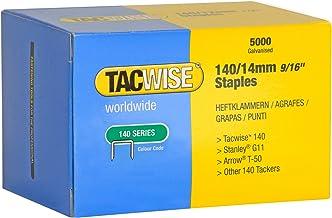 Tacwise 0344 Graffe 140/14mm per pistola per punti, confezione da 5000