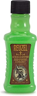 Reuzel - Scrub Shampoo - Shampooing Exfoliant - Suitable for All Hair Types - Cleanses Hair & Scalp - Removes Product Buil...