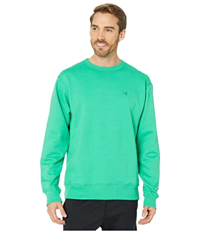 Champion Powerblend(r) Fleece Crew (Green Myth) Men