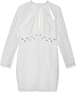 Bardot Casual Dress for Women - Off White, 12 UK