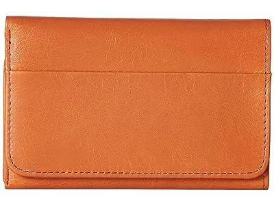 Hobo Jill Trifold Wallet (Dusty Coral) Clutch Handbags